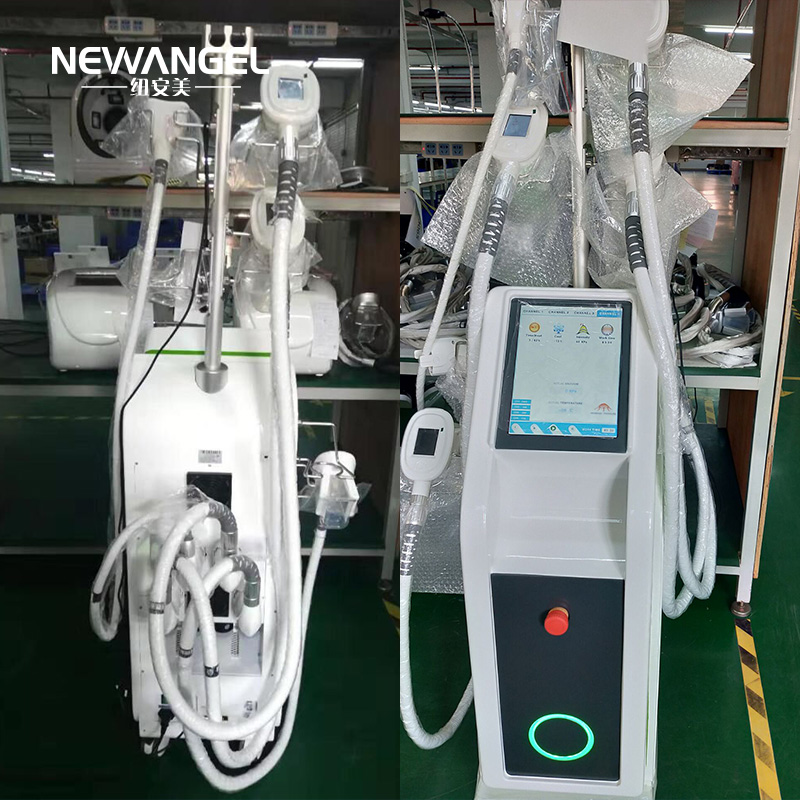 Freezing body fat cryolipolysis machine double chin removal five handles
