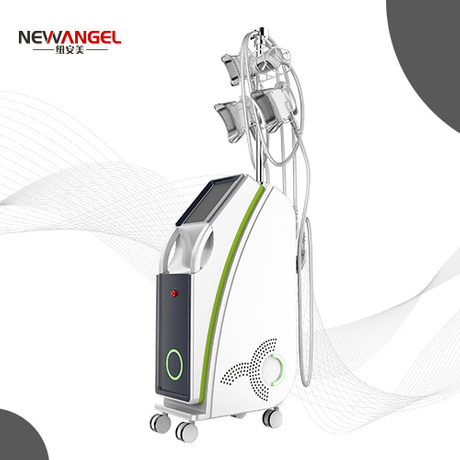 Cryolipolysis best machine with 4 handles work simultaneously