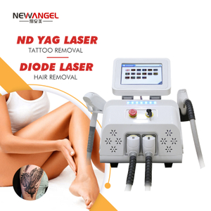 Q Switched Nd Yag Laser Tattoo Removal Skin Rejuvenation Diode Laser Hair Removal Machine All Skin Types for Clinic