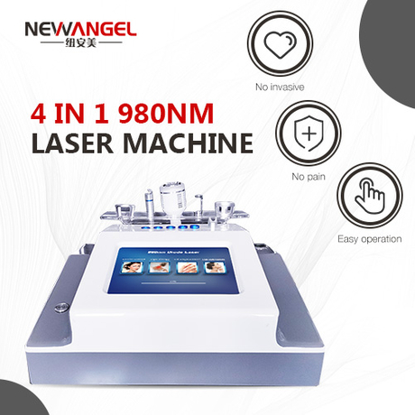 Aesthetic machine laser for vascular lesions