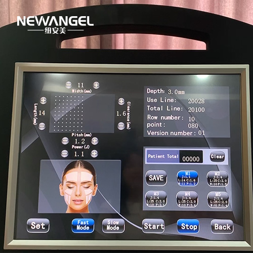 HIFU neck lift no invasive wrinkle removal system