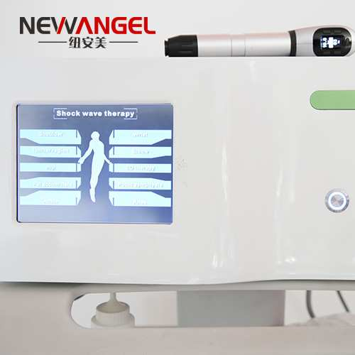 High energy shock wave therapy pneumatic machine joint pain relief