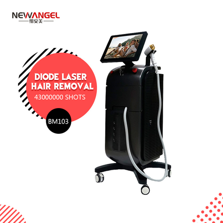 Diode 1064 808 755nm Laser Hair Removal Machine New Trending Clinic Salon Use Advanced Cooling System