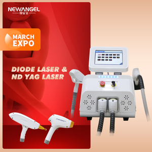 Diode Laser Hair Removal 3 Wavelengths Q Switch Nd Yag Laser 1064 Tattoo Removal Machine Salon Best Seller Painless