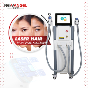 Hair Removal 755nm 808nm 1064nm Diode Laser Permanent Painfree Laser Hair Removal Machine Newangel Effective Salon