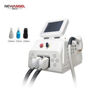 Nd yag laser q switch tattoo removal beauty machine laser hair removal 2020 factory price
