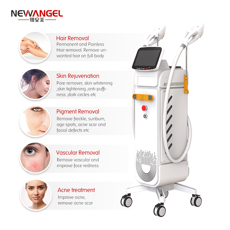medical grade ipl laser fast hair removal machine In stock Professional