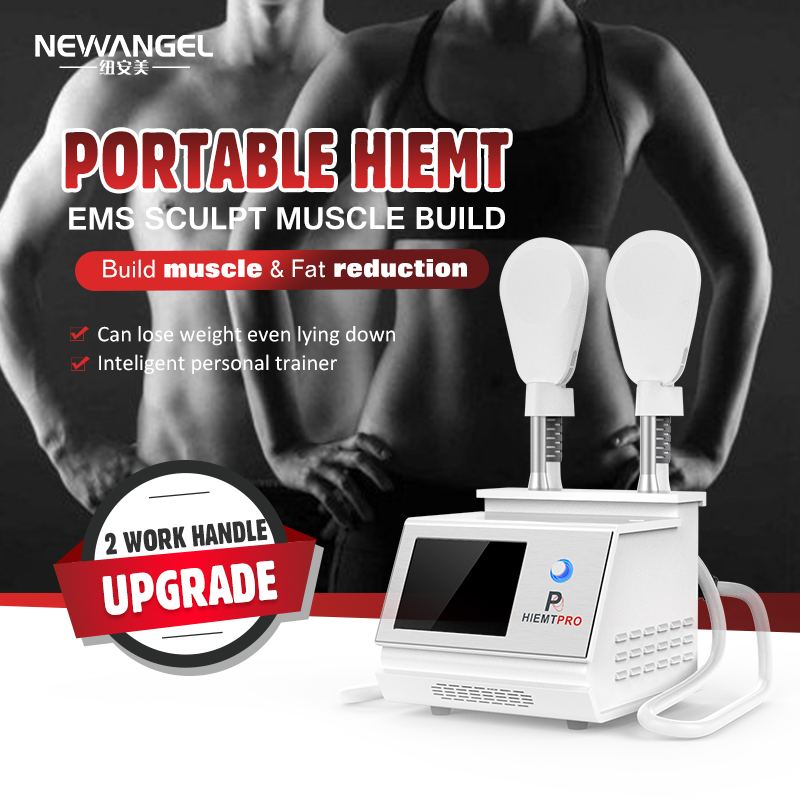 Hiemt Slimming Machine Ems Latest Upgrade Clinic Body Sculpting Muscle Building Fat Reduce for Sale