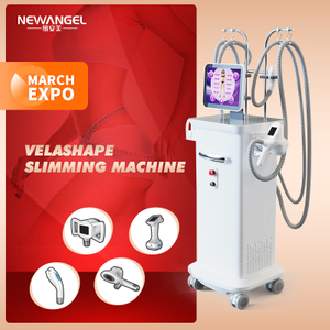 Vacuum Cavitation System Rf Body Slimming Cavitation Machine Velashape High Quality Salon Use Skin Tightening