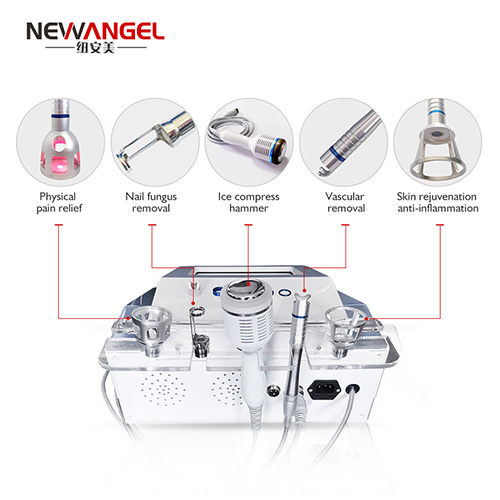 Laser vascular facial body use portable 980nm machine