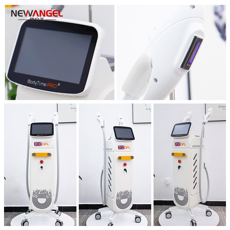 Dpl Hair Removal Laser Machine Multifunction Clinic Use Remove Epidermal Spots Vascular Removal Big Touch Screen