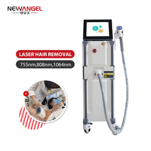 Ice Cooling Technology Painless Hair Removal Laser Beauty Machine High Quality 808nm Diode Laser Hair Removal Device