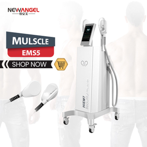 Portable hifem tesla emsculpt machine body slimming Build muscle