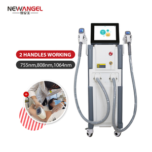 Diode laser underarm hair removal machine very effective for darker skin