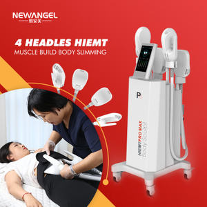 Ems Muscle Building Body Slimming Hiemt Pro Max 4 Handle Machine New Arrival Hi-emt Cosmetic Clinic
