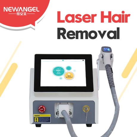 Professional 3 wavelengths best laser equipment for hair removal