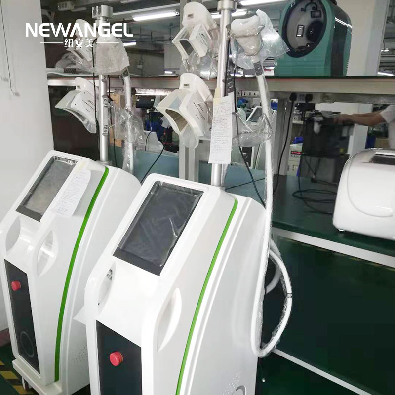 Buy professional cryolipolysis machine 4 handles working simultaneously