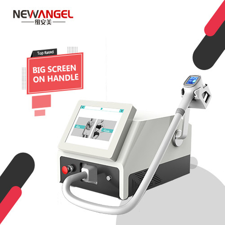 Laser machine laser hair removal with screen on handle easy use