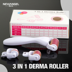 3 in 1 derma roller effective skin facial rejuvenation BM31