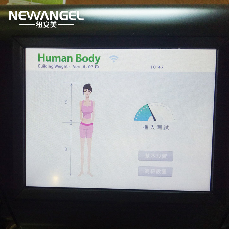 New WiFi easy use body fat analyzer machine