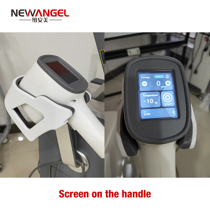 Professional grade laser hair removal machine