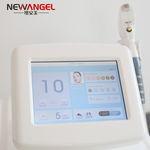 Best commercial laser hair removal machine for light and dark skin