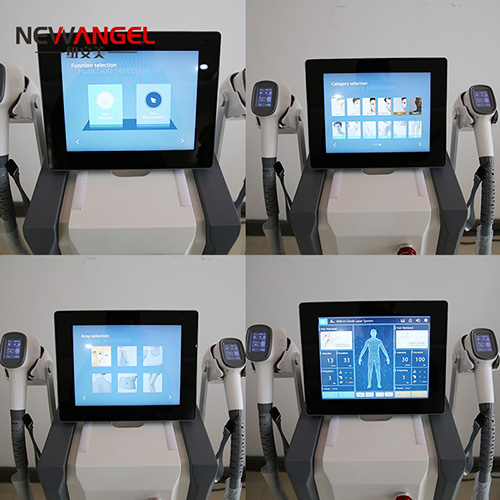 Latest laser machines for hair removal 3 wavelength all skin use