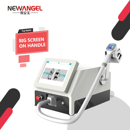 Laser hair removal machine for large areas