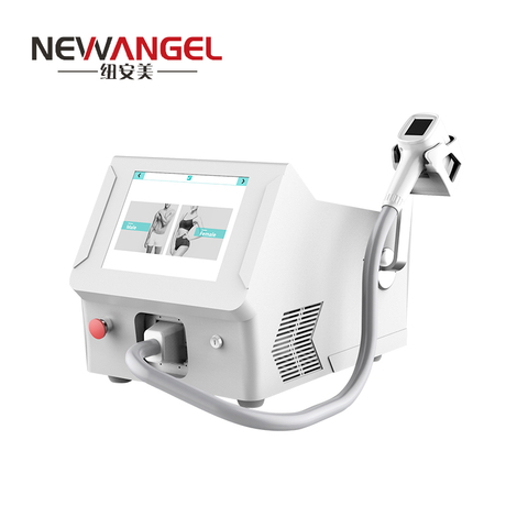 Intelligent 2 modes 808nm diode laser hair removal machine price
