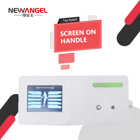 Buy shock wave therapy machine with big touch screen