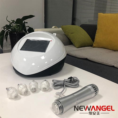 Portable shockwave low frequency therapy machine